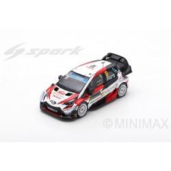 SPARK S5977 TOYOTA Yaris WRC TOYOTA Gazoo Racing WRT N°10 Rallye Monte Carlo 2019 J.-M. Latvala - M. Anttila