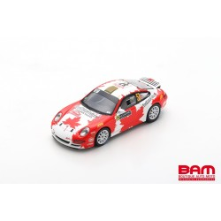 SPARK S5989 PORSCHE 997 Carrera RGT ClearWater Design Racing N°57 Rallye Monte Carlo 2019 I. Crerar -C. Kröner