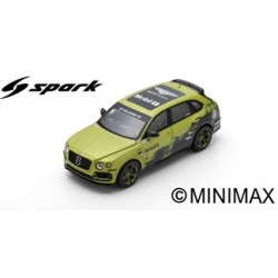 SPARK S7798 BENTLEY Bentayga Pikes Peak International Hill Climb 2018 10:49.902 SUV Production Record Time Rhys Millen