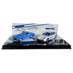 MINICHAMPS 402902010 COFFRET VW KARMANN + PORSCHE 997 TURBO 1.43
