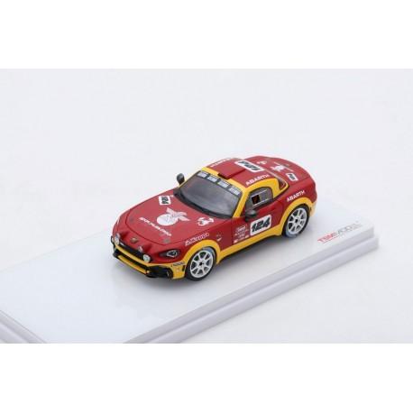 TRUESCALE TSM430132 ABARTH 124 Spider Rally Concept