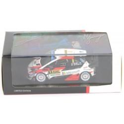 SPARK TOY13143G TOYOTA Yaris WRC N°8 Vainqueur Allemagne 2018