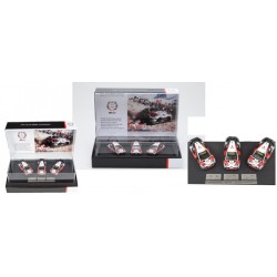 SPARK TOY13143S TOYOTA Yaris WRC 2018 Champion Series Car Set (1/43)