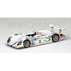 MINICHAMPS 400010903 AUDI R8 N 3-Team CHAMPION 1.43
