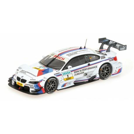 MINICHAMPS 410122201 BMW M3 DTM 2012 TOMCZYK 1.43