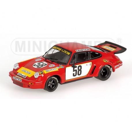 MINICHAMPS 430756958 PORSCHE 911 CARRERA RSR 3.0 LM75 No58 1.43