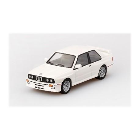 MINIGT00041-L BMW M3 (E30) Alpine White LHD