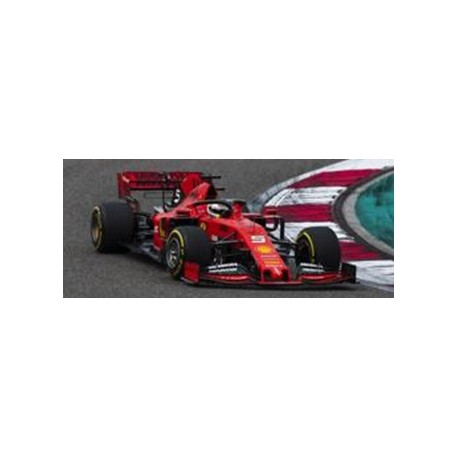 LOOKSMART LSF1019 FERRARI SF90 N°5 3ème GP China 2019 1000ème Grand Prix F1 Sebastian Vettel (1/43)
