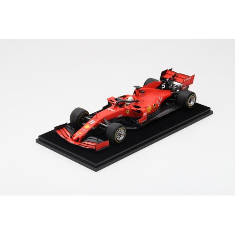 LOOKSMART LS18F1019 FERRARI SF90 N°5 3ème GP China 2019 1000ème Grand Prix F1 Sebastian Vettel (1/18)