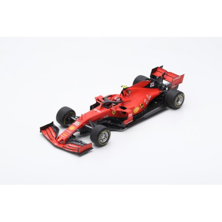LOOKSMART LS18F1020 FERRARI SF90 N°16 GP China 2019 1000ème Grand Prix F1 Charles Leclerc (1/18)