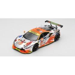 LOOKSMART LS18LM016 FERRARI 488 GTE N°61 Clearwater Racing 24H Le Mans 2018