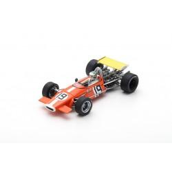 SPARK S5265 BRABHAM BT24 N°19 GP US 1969 Silvio Moser