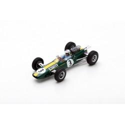 SPARK S7123 LOTUS 25 N°3 GP Allemagne 1965 Gerhard Mitter