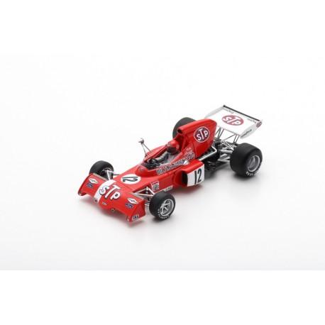 SPARK S7165 MARCH 721X N°12 GP Belgique 1972 Niki Lauda