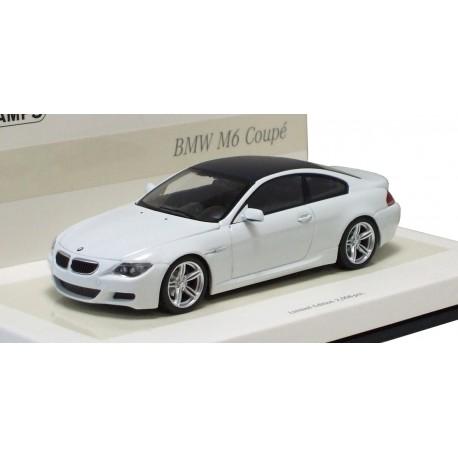 MINICHAMPS 436026120 BMW M6 COUPE 2007 BLANC 1.43