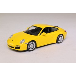 MINICHAMPS 436066420 PORSCHE 911 CARRERA 4S 2008 JAUNE 1.43