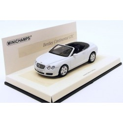MINICHAMPS 436139031 BENTLEY CONTINENTAL GTC BLANCHE 1.43