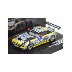MINICHAMPS 437110322 MERCEDES-BENZ SLS AMG GT3 N°22 1.43
