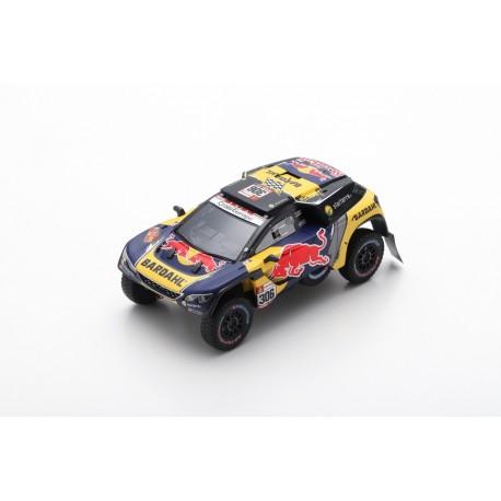 SPARK S5626 PEUGEOT 3008 DKR N°306 PH-Sport 3ème Rallye Dakar 2019 S. Loeb - D. Elena