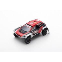 SPARK S5629 PEUGEOT 3008 DKR Maxi N°333 Easy Rally Rallye Dakar 2019 J-P. Besson - J. Brucy