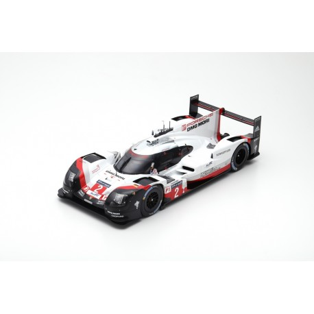 SPARK 12LM17 PORSCHE 919 Hybrid N°2- Porsche LMP Team- Vainqueur 24 Heures Le Mans 2017 - T.Bernhard-E.Bamber-B.Hartley