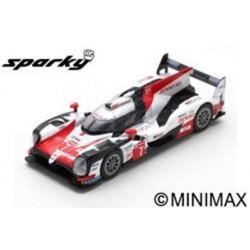 SPARK Y134 TOYOTA TS050 Hybrid N°7 TOYOTA GAZOO Racing 2ème 24H Le Mans 2018 M. Conway - K. Kobayashi - J. M. López