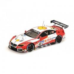MINICHAMPS 437172642 BMW M6 GT3 SCHNITZER N°42 NURBURG 17