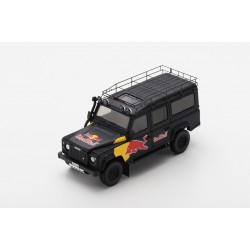 """TRUESCALE TSM430322 LAND ROVER Defender Red Bull """"LUKA"""" Promotional Vehicle"""