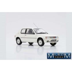 MILEZIM Z0049 PEUGEOT 205 Rallye 1988- Blanche