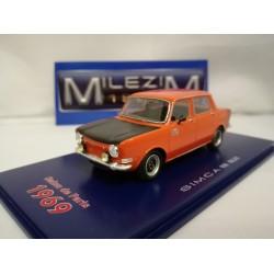 MILEZIM Z0028 SIMCA 1000 Rallye Rouge-1970