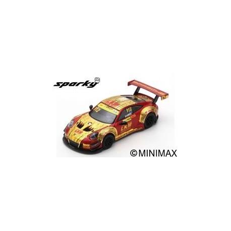 SPARK Y126 PORSCHE 911 GT3 R N°912 Manthey-Racing FIA GT World Cup Macau 2018 Earl Bamber