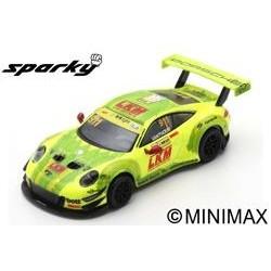 SPARK Y127 PORSCHE 911 GT3 R N°911 Manthey-Racing FIA GT World Cup Macau 2018 Laurens Vanthoor