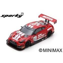 SPARK Y128 NISSAN GT-R Nismo GT3 N°23 GT SPORT MOTUL Team RJN 7ème 24H SPA 2018 M. Parry - A. Buncombe - L. Ordonez