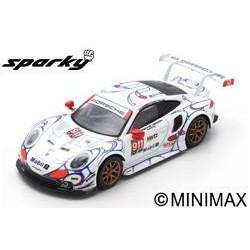 SPARK Y135 PORSCHE 911 RSR N°911 Porsche GT Team Vainqueur GTLM class Petit Le Mans 2018 P. Pilet - N. Tandy - F. Makowiecki