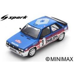 SPARK S5567 RENAULT 11 Turbo N°3 Rallye Monte Carlo 1987 J. Ragnotti - G. Thimonier