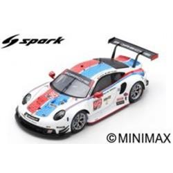 SPARK US072 PORSCHE 911 RSR N°912 Porsche GT Team 24H Daytona 2019 E. Bamber - L. Vanthoor - M. Jaminet (500ex)