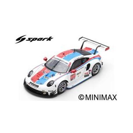SPARK US073 PORSCHE 911 RSR N°911 Porsche GT Team 24H Daytona 2019 P. Pilet - N. Tandy - F. Makowiecki (500ex)
