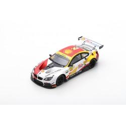 SPARK 43MC18 BMW M6 GT3 N°42 BMW Team Schnitzer Vainqueur FIA GT World Cup Macau 2018 Augusto Farfus (750ex)