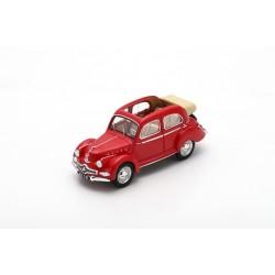 MILEZIM Z0045 PANHARD Dyna X85 Découvrable 1951- Rouge Foncé