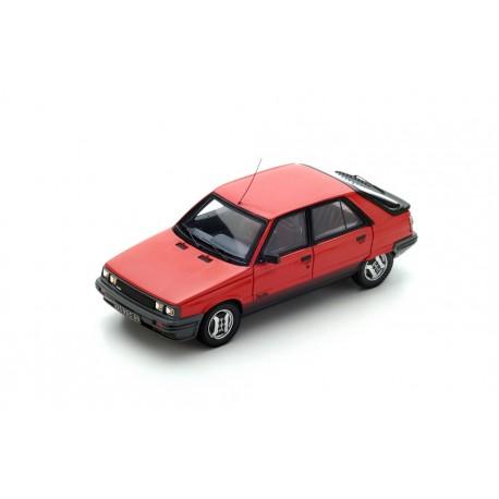 MILEZIM Z0014 RENAULT 11 TURBO 5 Portes Rouge 1985