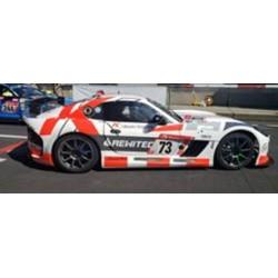 SPARK SG536 GINETTA GT4 N°73 KKraemer Racing powered by REWITEC 24H Nürburgring 2019
