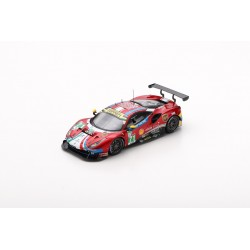 LOOKSMART LSLM092 FERRARI 488 GTE EVO N°71 24H Le Mans 2019 AF Corse