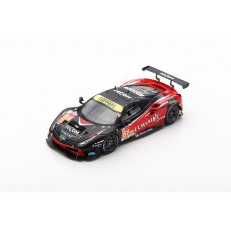 LOOKSMART LSLM097 FERRARI 488 GTE N°61 24H Le Mans 2019 Clearwater Racing