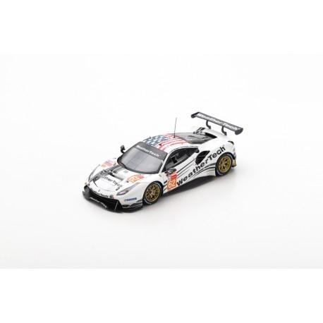 LOOKSMART LSLM098 FERRARI 488 GTE N°62 3ème LMGTE Am class 24H Le Mans 2019 WeatherTech Racing