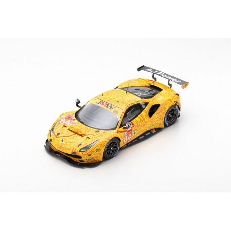 LOOKSMART LS18LM021 Ferrari 488 GTE N°84 2ème LMGTE Am class 24H Le Mans 2019 JMW Motorsport