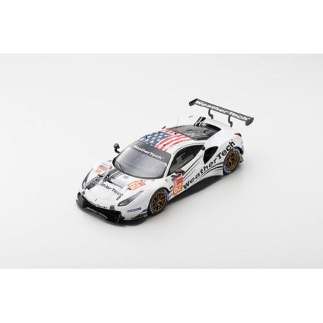 LOOKSMART LS18LM022 FERRARI 488 GTE N°62 3ème LMGTE Am class 24H Le Mans 2019 WeatherTech Racing
