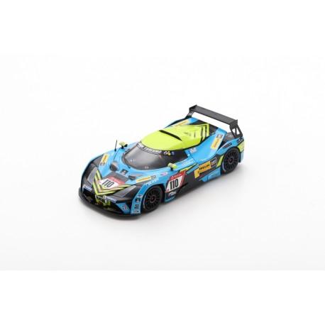 SPARK SG540 KTM X-BOW GT4 N°110 Teichmann Racing Vainqueur Cup-X class 24H Nürburgring 2019
