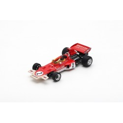 SPARK S7125 LOTUS 72D N°2 2ème GP Austriche 1971 Emerson Fittipaldi