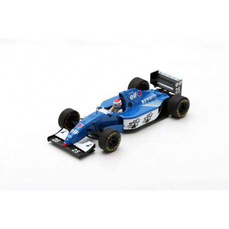 SPARK S7403 LIGIER JS39B N°25 3ème GP Allemagne 1994 Éric Bernard