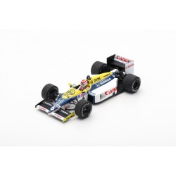 SPARK S7480 WILLIAMS FW11 N°6 Vainqueur GP Brésil 1986-Nelson Piquet